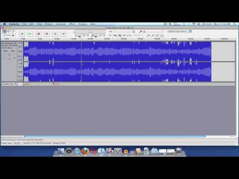 How to split your DJ mixset into separate tracks using Audacity