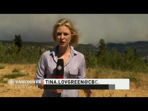 CBC News Vancouver: Williams Lake return, interfering with wildfires