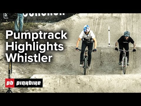 Pumptrack FULL Highlights | Whistler Crankworx 2018