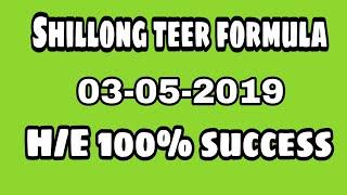 TEER SHILLONG KHANAPARA COUNTER RESULT DATE :- 27/05/18