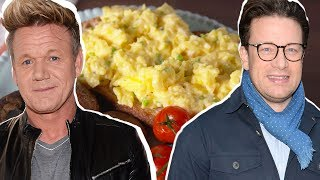 Gordon Ramsay Vs. Jamie Oliver: Whose Scrambled Eggs Are Better?