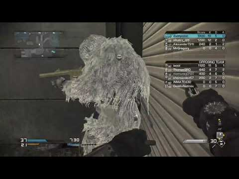 Call of Duty® Ghosts Knife Only Gameplay I'm Backkkkk