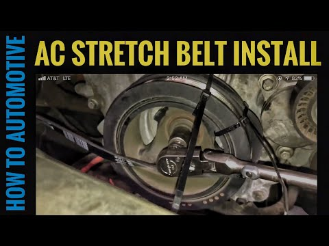 How to Replace the AC Stretch Belt on a 2011-2017 Ford F-150 Eco-Boost 3.5L