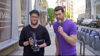 Billy On The Street Death Rogen With Seth Rogen