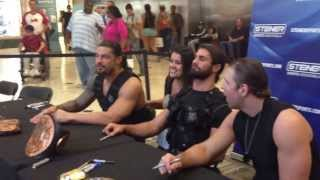 Meeting The Shield 9/8/13 ♥ Best Day Ever!!!