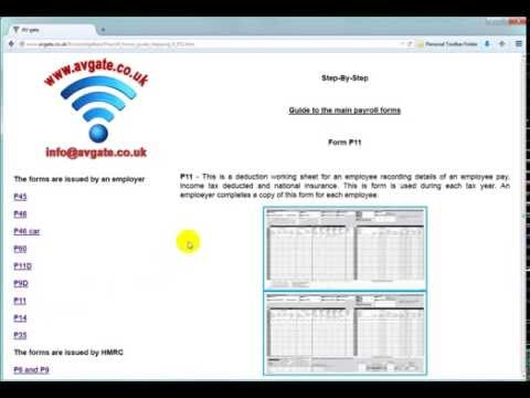 Payroll forms guide stepping Video