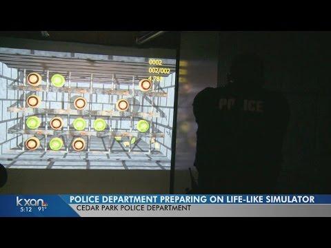 Cedar Park Police Department uses new training simulator