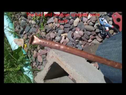 Homemade liquid fueled rocket engine