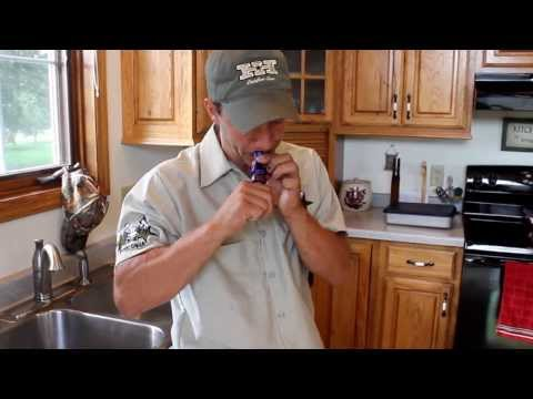 Duck call cleaning and tuning