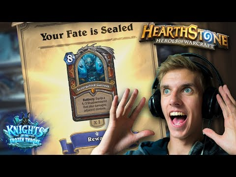 [Hearthstone] Knights of the Frozen Throne - LEGENDARY - Free F2P Basic Cards