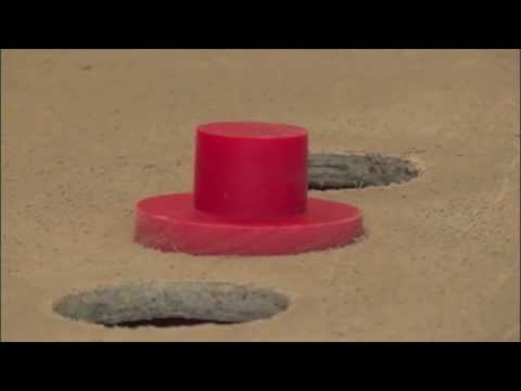 diy concrete countertops - Installing Faucet Knockouts