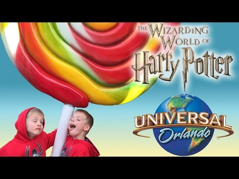 The Wizarding World of Harry Potter at Universal Studios Florida with Family Fun Pack