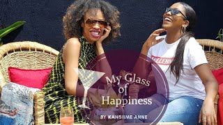 Part two. How to make simple production sets. My glass of happiness. Kansiime Anne