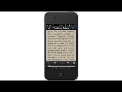 Using Kindle for iPhone