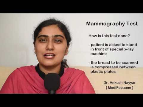Mammography Test - Screening for Breast Cancer