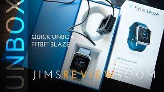Fitbit Blaze Quick Unbox Overview