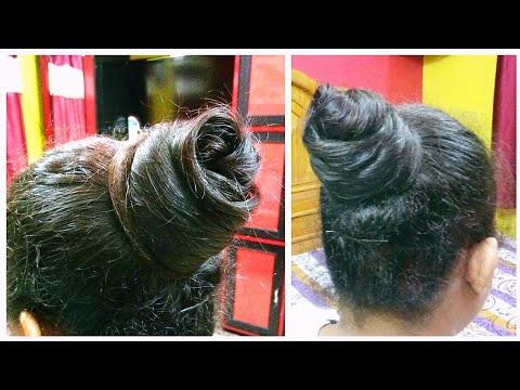 Latest Stylish Hairstyle, Best for Summer-High Bun সব অনুষ্ঠানের জন্য  উপযুক্ত হেয়ার স্টাইল