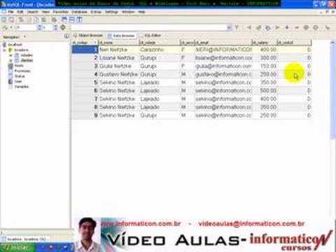 Aula 1283 banco de dados SQL - Chave Estrangeira Foreign Key