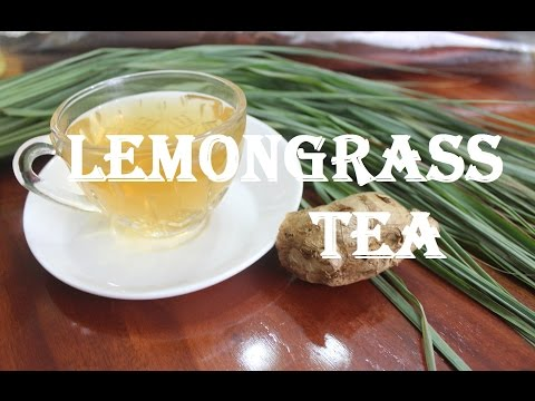 how to make Lemongrass Tea with Cinnamon Ginger Recipe  - For Weight Loss & Detox!