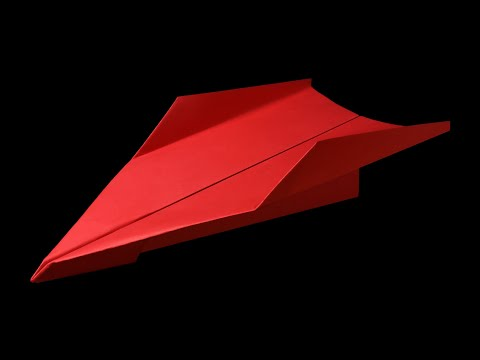 How to make a Paper airplane that FLIES STRAIGHT - BEST paper airplanes that FLY FAR . Vadim