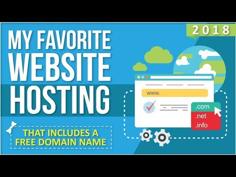 My Favorite Website Hosting [That Includes A Free Domain Name]