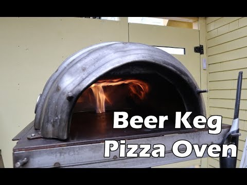 Building a Beer Keg Pizza Oven