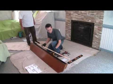 Installing a Pearl Mantels Shelf