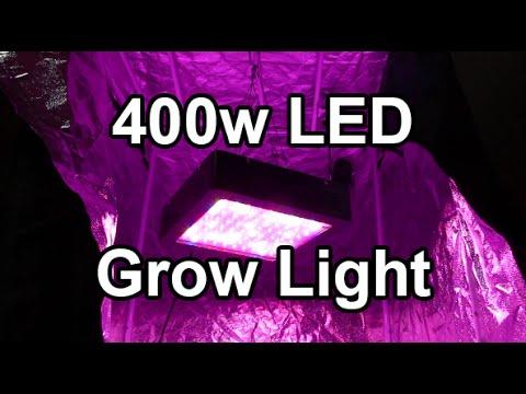 Mars II 400w LED Grow Light - For the new loft garden!