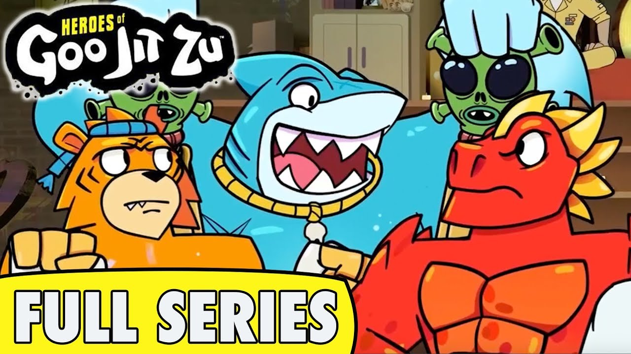 Heroes of Goo Jit Zu | CARTOON | Full Series | TOYS OUT NOW!