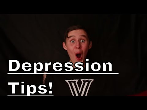 HOW TO DEAL WITH DEPRESSION AS A KID!