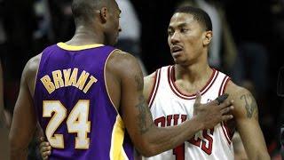MVP Derrick Rose vs Kobe Bryant Sick Duel 2010.12.10 - 52 Pts, 16 Dimes Combined, MUST WATCH!