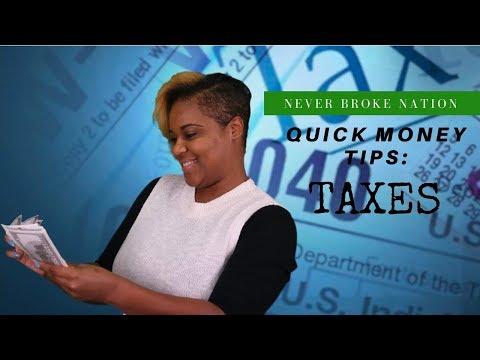 Quick Money Tips: Taxes