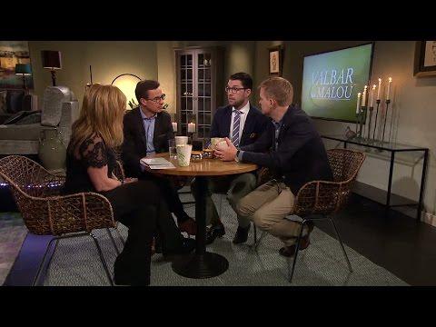 Hur tacklar partierna nutidens utmaningar? - Malou Efter tio (TV4)
