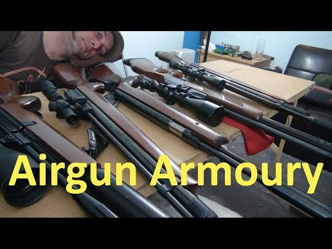 Srspower Airgun Armoury Explained