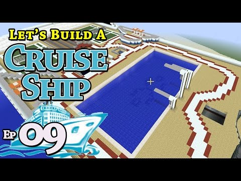 How To Build A Cruise Ship :: Minecraft :: E9 :: Z One N Only