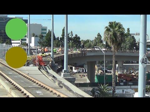 Los Angeles Metro - Crenshaw/LAX Line Tracks (Aviation/LAX)