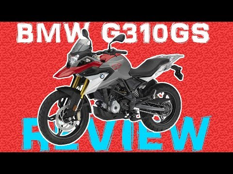 BMW G 310 GS REVIEW - BEST ADVENTURE BIKE?