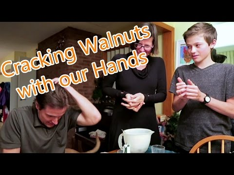Is it Even Possible to Crack Walnuts with our Bare Hands??
