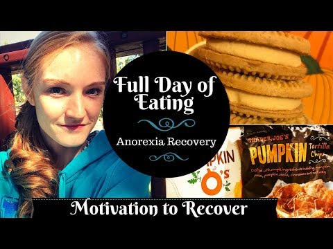 FULL DAY OF EATING//Anorexia recovery// How to stay motivated!?
