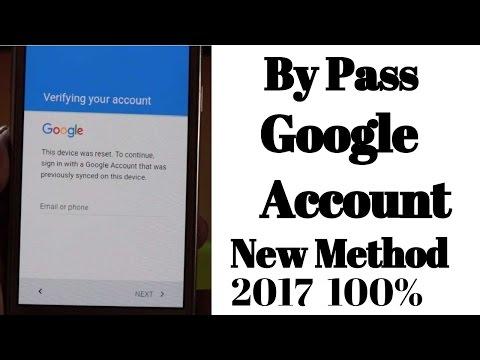 A new way to Bypass Google Account Samsung J2 (FRP BYPASS)