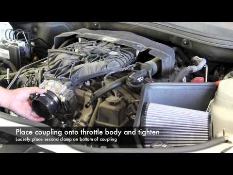 aFe Power 2012-2014 Chevy Camaro V6 Stage-2 Air Intake System Install (54-12022)