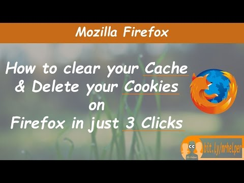 How To Clear Your Cache & Delete Your Cookies On Firefox In Just 3 Clicks