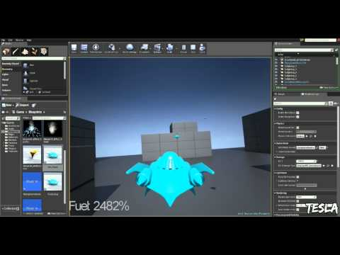 Unreal Engine 4.1 - Fuel System Example