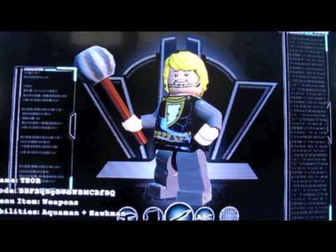 Lego Batman 3 How to make Thor