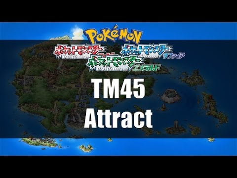 Pokemon Ruby/Sapphire/Emerald - Where to find TM45 Attract