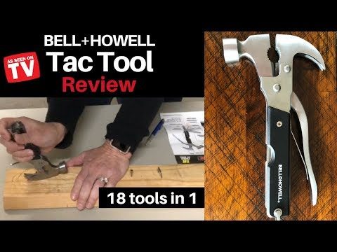 Tac Tool Review - 18 tools in 1