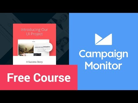 How to Use a Custom Campaign Monitor Template