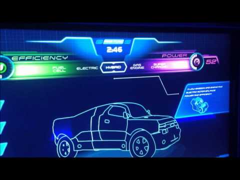 Car Design at Test Track (Epcot)
