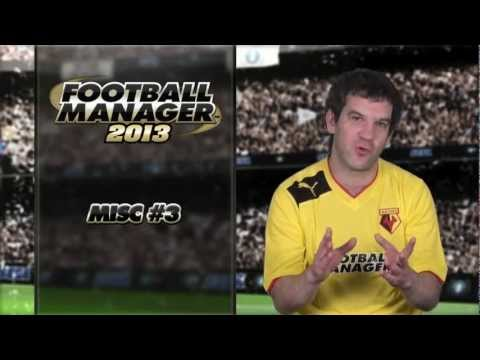 Football Manager 2013 Video Blog: Miscellaneous 3 (English version)