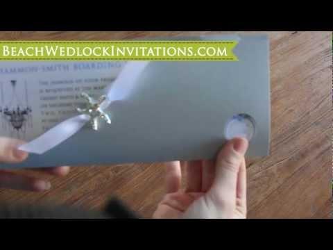 How to DIY Boarding Pass Wedding Invitations, How to Create Boarding Pass Invitations, Tutorial